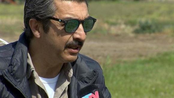 Ricardo Darín es un piloto que participó de los vuelos de la muerte.