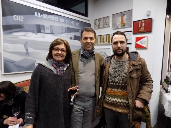 Nora y Daniel Benoit, Francisco Cunha.