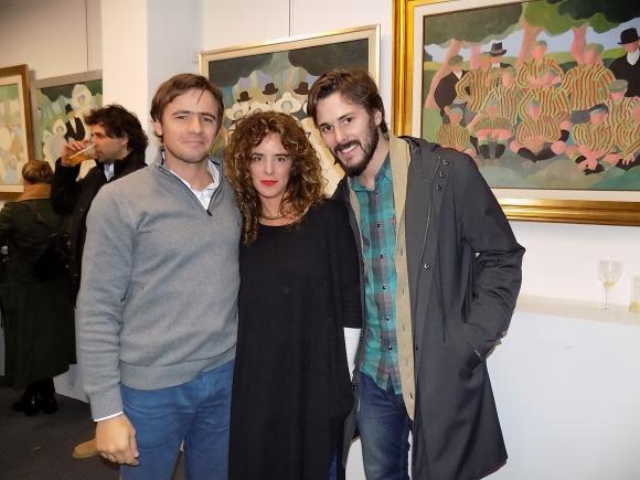 Asdru Garcia Guevara, Gimena Ribas, Jean Paul Bragard.