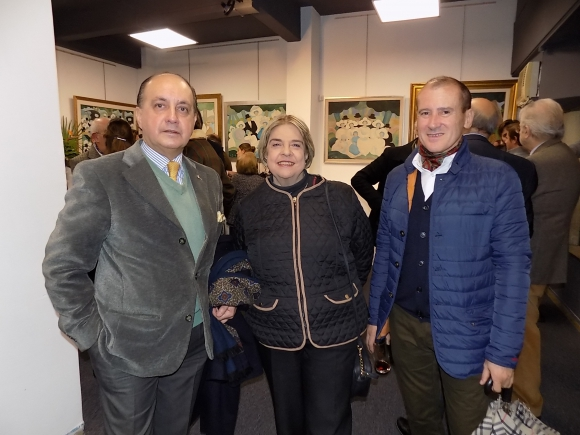 Carlos Flores Santos, María Teresa Darnaud, Pablo Lagomarsino.