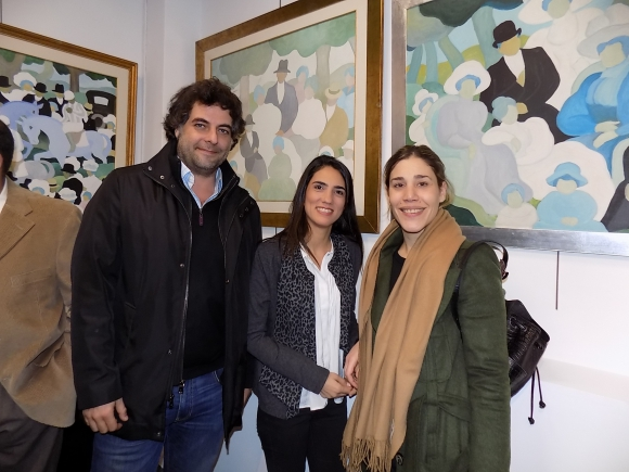 Gonzalo Ruiz, Ana Inés Zorrilla de San Martín, Valentina Maiorano.