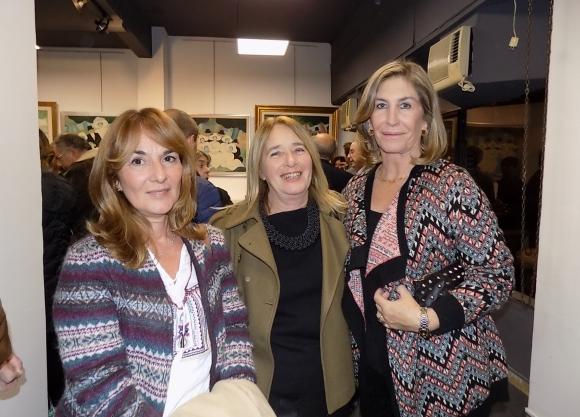 Jeannine André, Elsa Grego, Carmen Muñoz.
