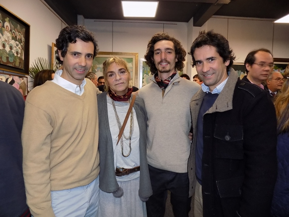 Sebastián Zorrilla, Francisca Zorrila, Agustín Rompani, Rodrigo Zorrilla de San Martín.