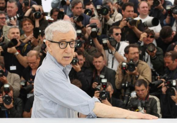 Woody Allen ante la prensa en el Festival de Cannes (Foto: AFP)