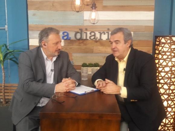 Jorge Larrañaga en El País TV