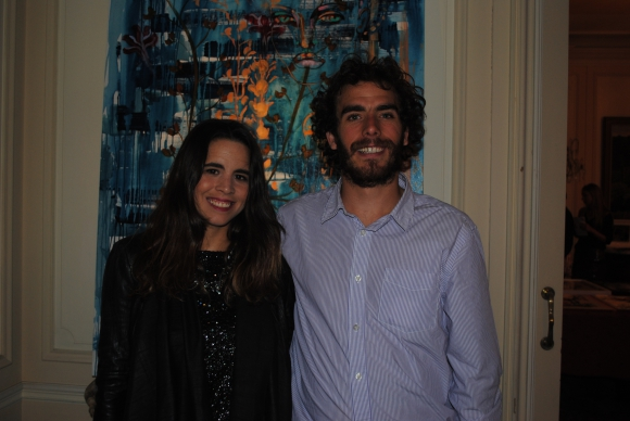 Agustina y Luciano López Saavedra.