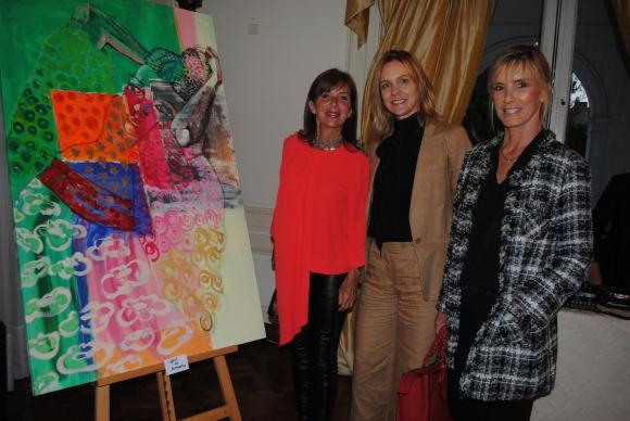 Florencia Mañé, Greta Hoeffner, Clarice Buero.