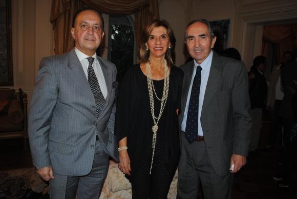 Carlos Flores Santos, Inés y Raúl Zorrilla de San Martín.
