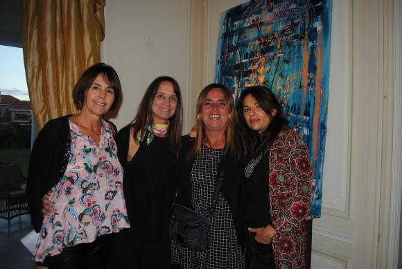 Lucila Torres Lacroze, Cecilia Araya, Mecha Uriburu, Alcira Depuy de Lome.