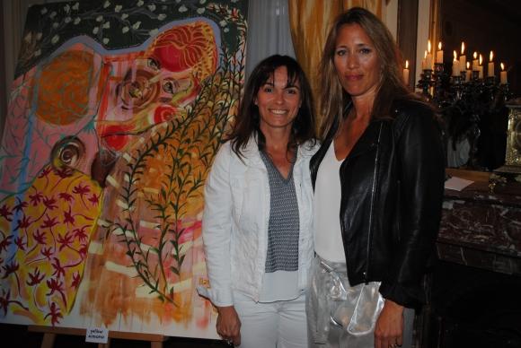 Agustina Gaviña, Lucía Mesones.