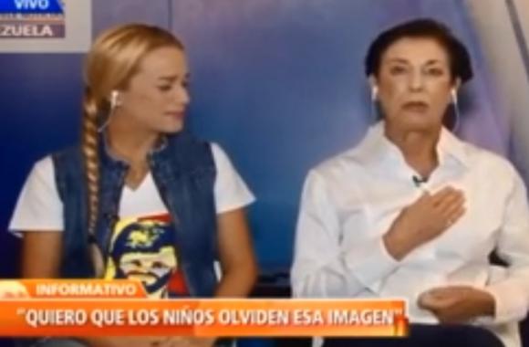 Ambas mujeres dieron un desgarrador testimonio sobre lo ocurrido. Foto: Captura NTN24