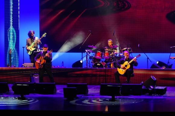 Larbanois & Carrero en el Auditorio del Sodre. Foto: F. Ponzetto