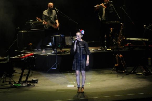 Julieta Venegas en el Teatro de Verano. Foto: M. Bonjour