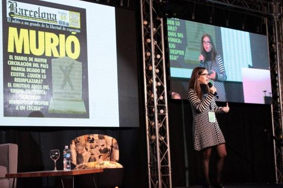 Ingrid Beck, directora de Revista Barcelona (Argentina)