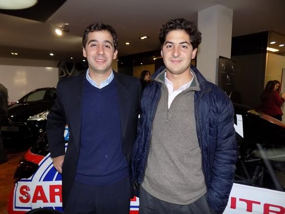 Nicolás y Sebastián Assandri.