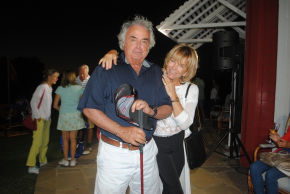Javier y Claudia Laurenz.