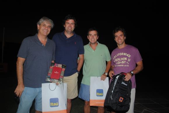 Jorge Rossolino, Pablo Faget, Roque y Matias de Freitas.