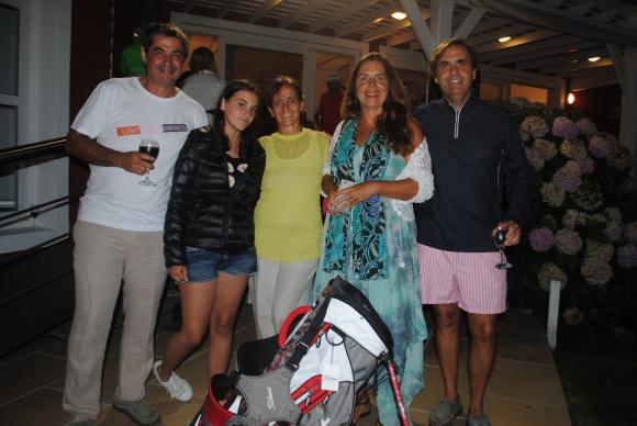 Luis Fontan, Belén y Laura Goyanes, Florencia Valls de Ortíz, Hernan Goyanes.