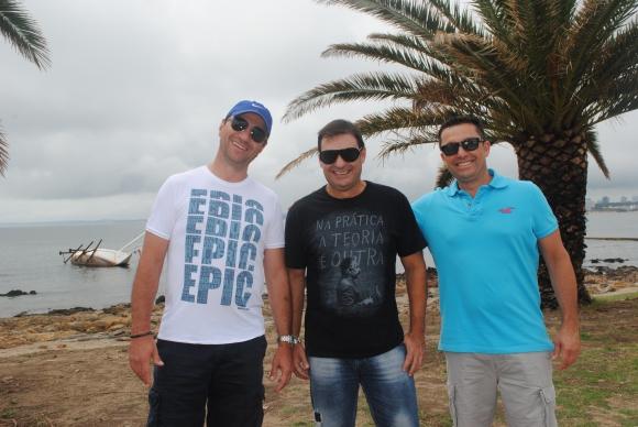 Joao Mafia, Beto Palma, Orlando Fabrizio.