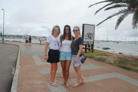 Triana Palma, Andrea Mourad, Julie Secco.