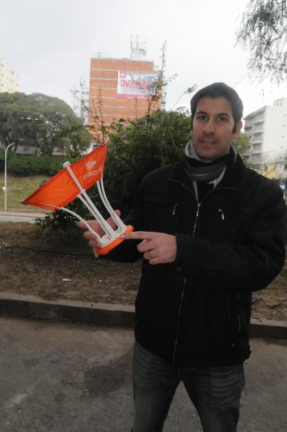 Ianai Urwicz. Es uno de los creadores de Birdie (Foto: Francisco Flores)