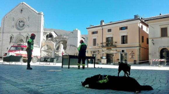 Terremoto en Italia. foto: EFE