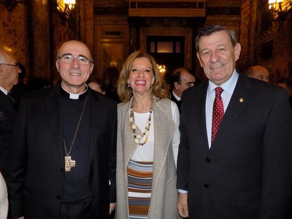 Daniel Sturla, Patricia Damiani, Rodolfo Nin Novoa.