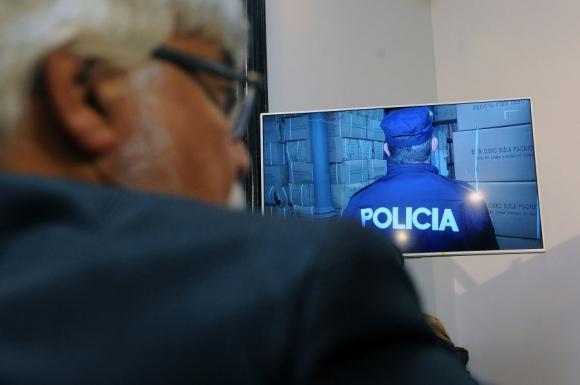Presentación de los nuevos uniformes policiales. Foto: Fernando Ponzetto