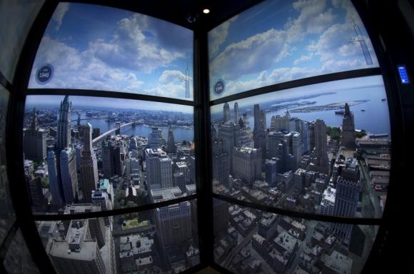 Observatorio del WTC. Foto: Reuters