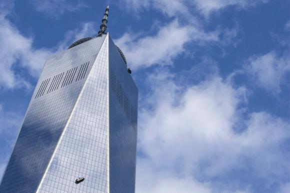 Accidente en el World Trade Center. Foto: Reuters