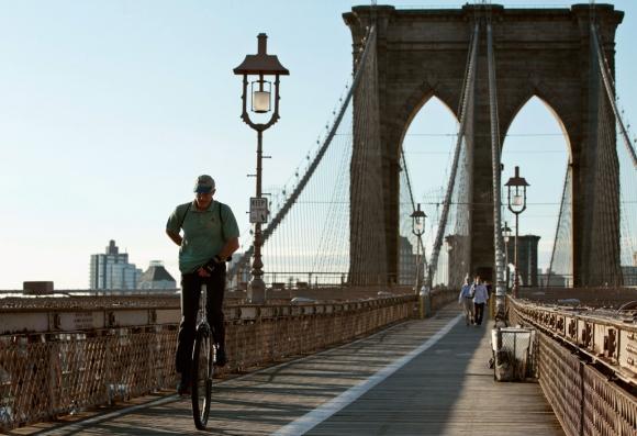 El puente de Brooklyn. Foto: Archivo El País