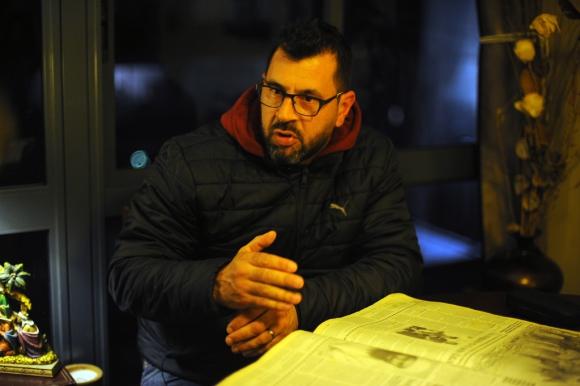 Claudio Cacciavillini. Foto: Fernando Ponzetto