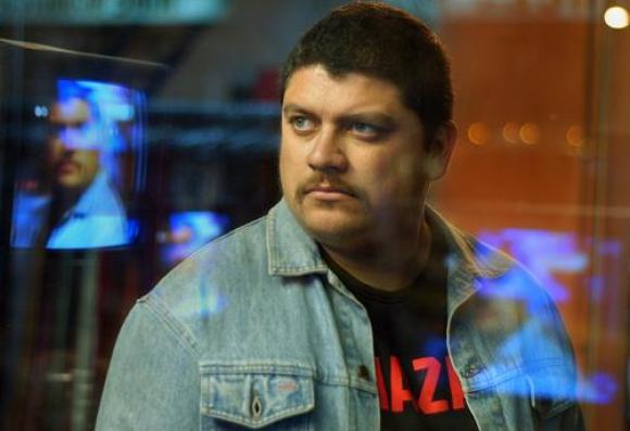 Horacio Camandulle como Jara en la película Gigante, estrenada en 2009.