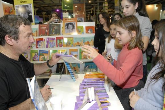 Roy Berocay es de los autores que vende al exterior desde hace más tiempo.