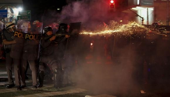 Manifestaciones en Brasil. Foto; AFP