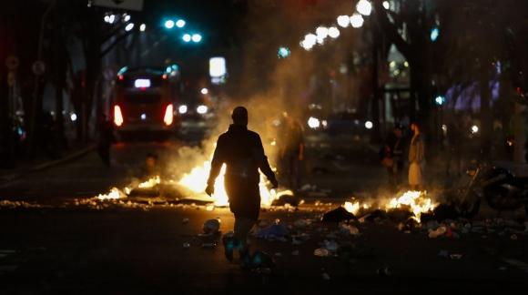 Manifestaciones en Brasil. Foto: AFP