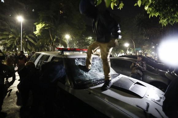 Manifestaciones en Brasil . Foto: AFP