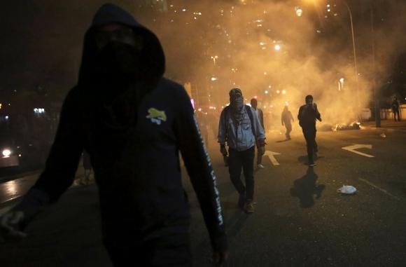 Manifestaciones en Brasil. Foto: Reuters.