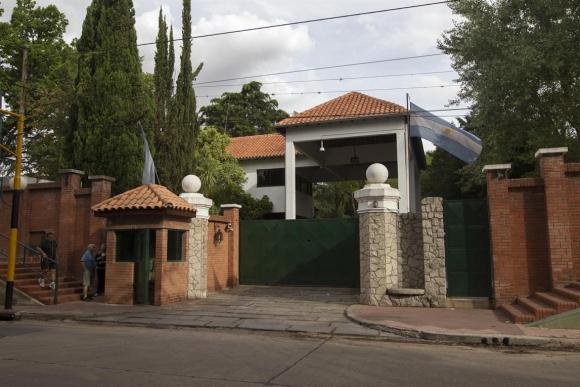 Preparan la quinta de Olivos para recibir a la familia Macri. Foto: La Nación | GDA