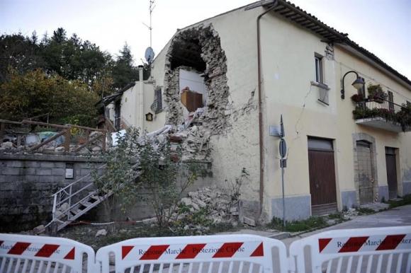 Otro terremoto sacudió Italia. Foto: EFE