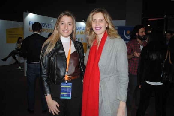 Florencia Ferrari, Natalia Jinchuk.