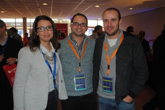 Tania Gaitán, Andrés Galperín, Cesar Grazioli.