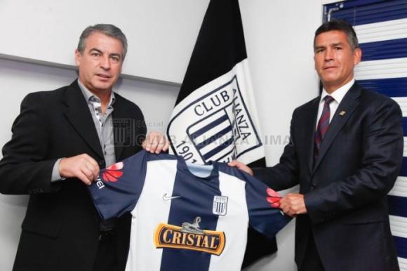 Pablo Bengoechea, nuevo técnico del Alianza Lima Foto: clubalianzalima.com.pe