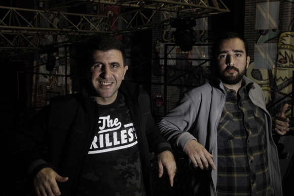 Mikael Boudakian y Joaquín