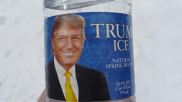 El agua de manantial de Trump. Foto: Archivo / La Nación   GDA