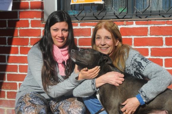 Valentina Rama fue atacada por un Pitbull en la veterinaria de su madre. <br>Foto: Ariel Colmegna.