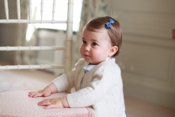 La princesa Charlotte cumple un año. Foto: @kensingtonroyal