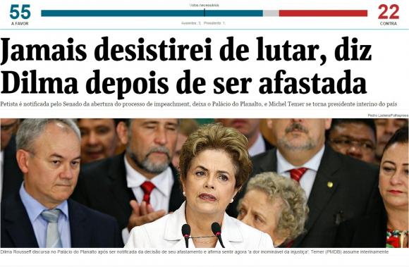 Folha do Sao Paulo, Brasil.