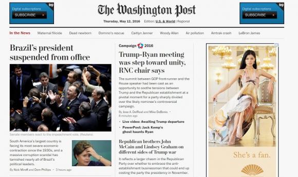The Washington Post, Estados Unidos.