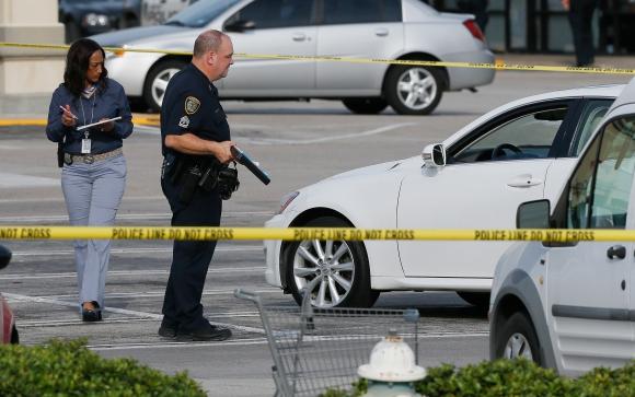 Tiroteo en Texas deja varios heridos. Foto: AFP